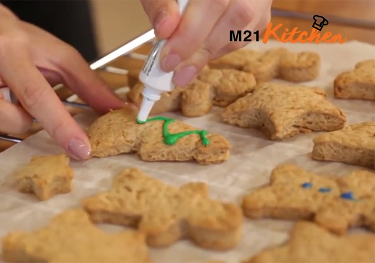 《M21 Kitchen》薑餅人食譜